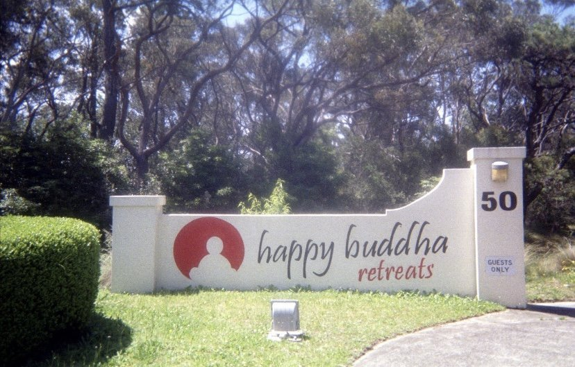 Volunteering at Happy Buddha