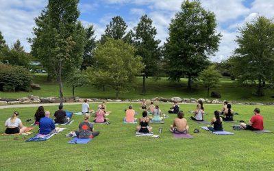 Last yoga class in Tulsa